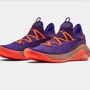 New!! UA TB Curry 6 Basketball Sneakers Size 15